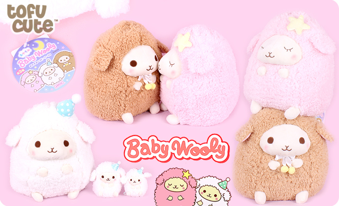 baby-goodnight_Buy Authentic AMUSE Baby Wooly Goodnight Giant Plush at Tofu Cute