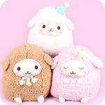 Amuse Baby Wooly Goodnight Giant Plush