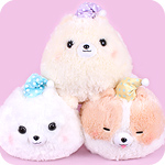 Fuwa Mofu Pometan Goodnight Giant Plush