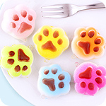 Kawaii Squishy Scented Cat Paw Charm