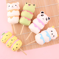 Kawaii Jumbo Squishy Dango on Stick