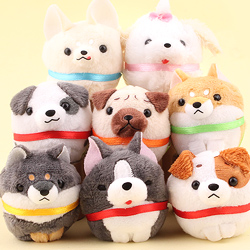 Puchimaru Round Dog Collection Charm