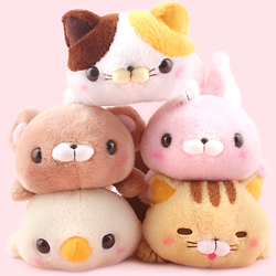 Amuse Dara Mofu-San Animals Small Plush