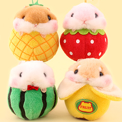 Amuse Korohamu Hamster Fruits Charm