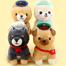 Mameshiba Pup Dogs with Jobs Small Plush
