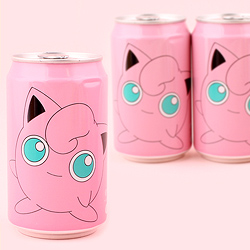 Pokemon Soda Can - Jigglypuff Peach