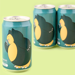 Pokemon Soda Can - Snorlax Muscat Grape