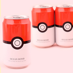 Pokemon Soda Can - Pokeball Original