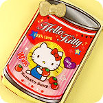 Hello Kitty Tomato Soup Zipped Case