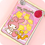 My Melody Strawberry Biscuit Zipped Case