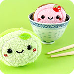 Kawaii Mantou Bun Plush Phone Charm