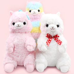 Alpacasso Alpaca Sitting Giant Plush