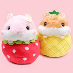Korohamu Hamster Fruits Giant Plush