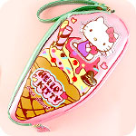 Hello Kitty Loves Dessert Pencil Case