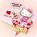Hello Kitty Loves Dessert Wallet