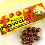 Glico Kawa-ii Chocolate Roasted Peanuts