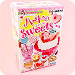 Re-Ment Heart Sweets Miniature Set