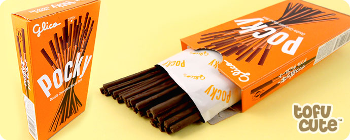 Buy Glico Pocky Double Chocolate Biscuit Sticks At Tofu Cute