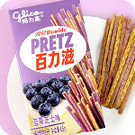 Glico Double Pretz - Blueberry Cheesecake