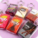 Pocky Biscuit Sticks Miniature Keychain