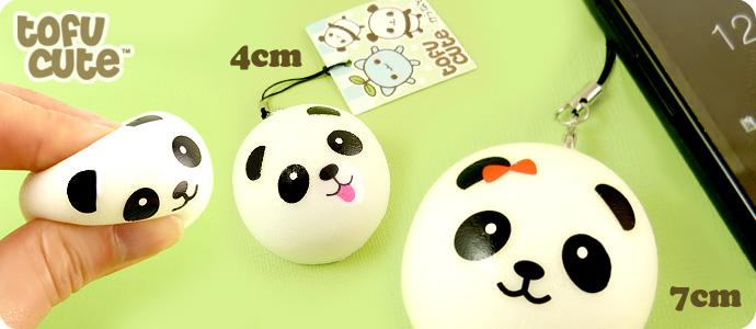buy squishy scented panda dim sum bun phone charm at tofu cute