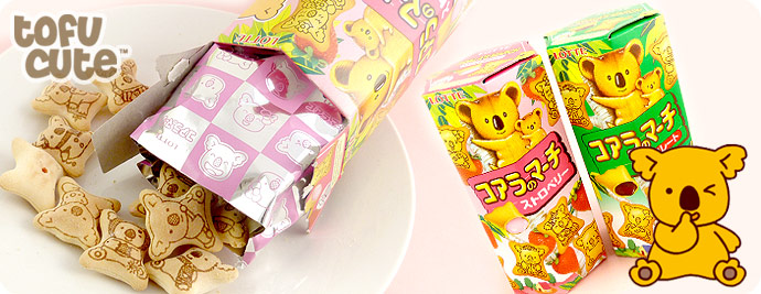 Lotte Koala March Biscuits - Strawberry
