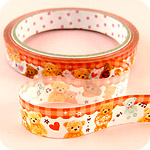 Kawaii Deco Tape - Sugar Bear