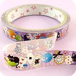 Kawaii Deco Tape - Alice in Wonderland