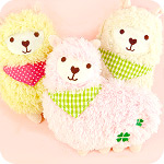 Fluffy Alpaca Plush Multi-Purpose Case