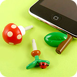 Plugy Kawaii Earphone Jack Accessory