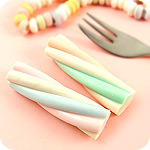 Kawaii Marshmallow Twist Eraser Set