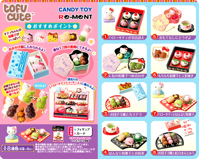 Re-Ment Hello Kitty Japanese Sweet Shop