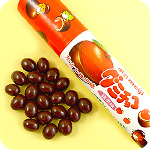 Meiji Gummy Chocolate Tube - Red Apple
