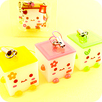 Kawaii Multi-Use Tofu Cube in Tray