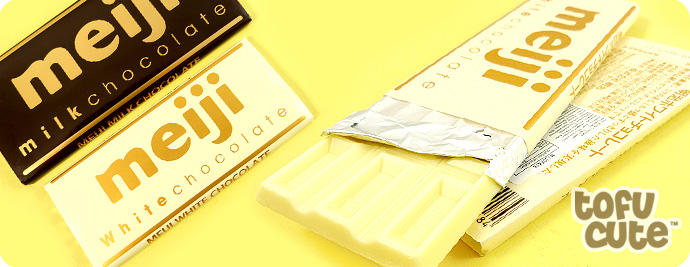 Meiji Japanese White Chocolate Bar