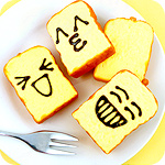 Squishy Scented Emoticon Toast Slice