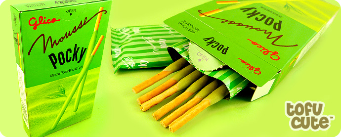 Glico Pocky Matcha Mousse Biscuit Sticks