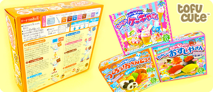 kracie popin cookin donuts english instructions