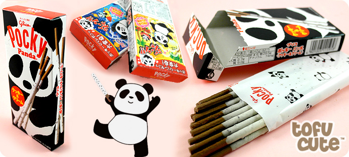 Glico Panda Pocky - Cookies & Cream