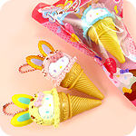 Re-Ment Hello Kitty Bunny Ice Cream Pen