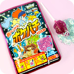 Meiji Pokepachi Popping Candy Lollipop