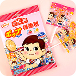Fujiya Poko-Chan Lollipops - Milk Fruit