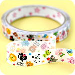 Kawaii Deco Tape - Lucky Animal