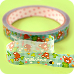 Kawaii Deco Tape - Milk Choco Bear