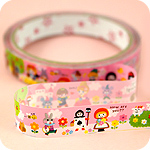 Kawaii Deco Tape - Pink Fairy Tale