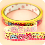 Kawaii Deco Tape - Lovable Candy Bears