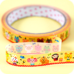 Kawaii Deco Tape - Quirky Animals