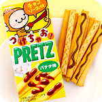 Glico Pretz Banana with Chocolate Sauce