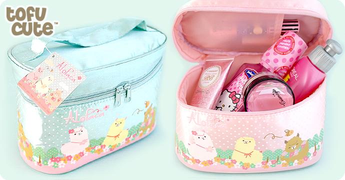 a9b901f66d6d Buy Alopaca Alpaca Cosmetic & Toiletry Bag at Tofu Cute
