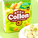 Glico Collon Biscuit Roll - Matcha Filling